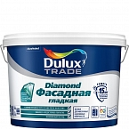 Краска Dulux Professional Diamond Фасадная Гладкая матовая BW 10л